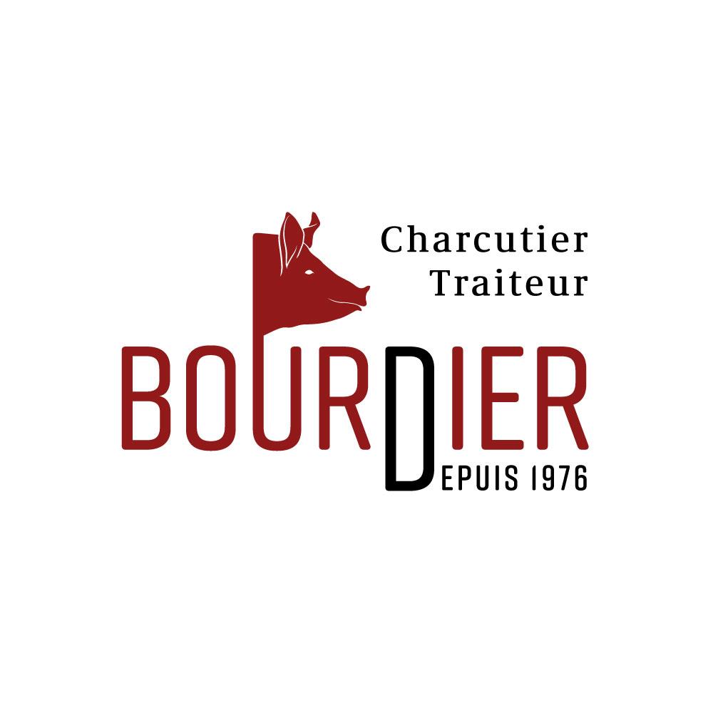 Bourdier charcutier traiteur creuse logo